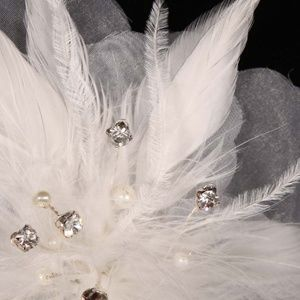 Your Dream Dress Accessories - Your Dream Dress SFL303 Flower Bridal Headpiece